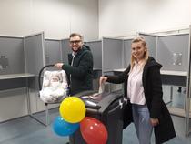 sectie de vot in Olanda (sursa- facebook)