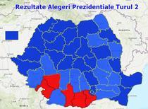 Rezultate Alegeri Prezidentiale 2019 - Turul 2 - Pe judete