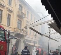 Incendiu strada Franceza