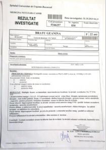 Rezultate investigatie