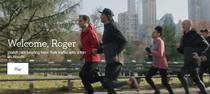 Roger Federer alergand in incaltarilor celor de la On Running