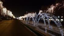 luminile de craciun din Capitala