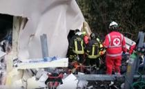 Accident provocat de un sofer de tir roman in Italia