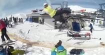 Accident schi Georgia