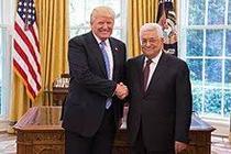 Mahmoud Abbas si Trump
