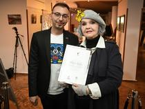 Adrian Tibu, Margareta Paslaru: photo Dragos Dumitru