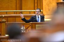 Ludovic Orban, în Parlament