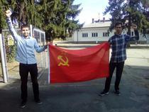 Tineri comuniști români