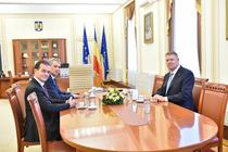 Iohannis, la preluarea mandatului la Ministerul de Interne