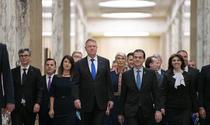 Klaus Iohannis si Cabinetul Orban la Palatul Victoria