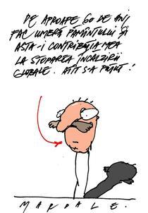 Caricatura Octav Mardale