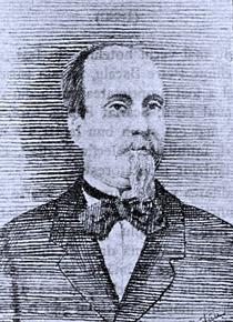 Scarlat Pastia, portret preluat din Iașii de odinioară de Rudolf Suțu