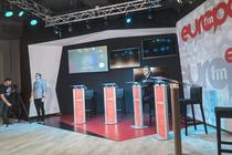 Studioul dezbaterii electorale - Europa FM