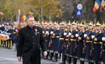 Klaus Iohannis la parada militara de 1 Decembrie