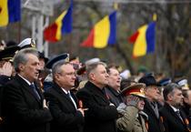 Klaus Iohannis la parada militara de 1 Decembrie 2019