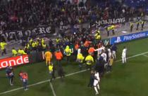 Jucatorii lui Lyon, in conflict cu proprii suporteri