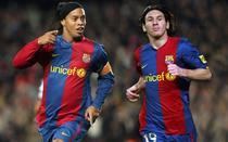 Ronaldinho si Messi