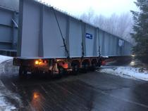Transport agabaritic blocat