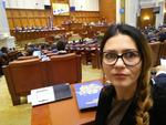 Florina Presada in Parlament