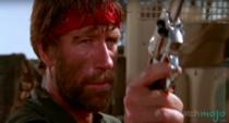 """Chuck Norris în filmul """"Lupul singuratic"""""""