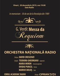 Recviemul lui Verdi la Sala Radio