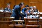 Orban, Turcan și Cîțu, în Parlament