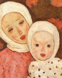 Maternitate - Nicolae Tonitza