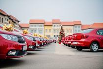 20 de autoturisme Dacia, oferite de Catena