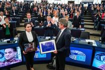 Ilham Tohti, laureatul Premiului Saharov al Parlamentului European