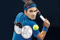 Monede cu efigia lui Roger Federer