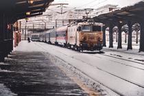 Tren in Gara de Nord