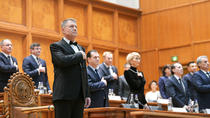 Iohannis, la depunerea juramantului (presidency)