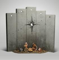 The Scar of Bethlehem, Banksy ( captura Instagram)