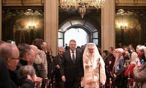 Iohannis si Patriarhul Daniel (presidency)