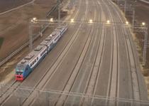 Trenul inaugural Crimeea - rusiia