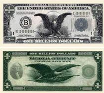 Un pachet cu 10 bancnote costa $8.95