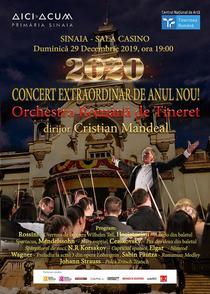 Concert extraordinar de Anul Nou cu Orchestra Română de Tineret
