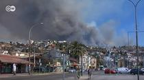 Incendiu in Valparaiso