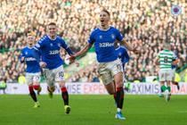 Glasgow Rangers, victorie in derbiul Old Firm