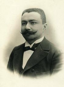 Emil Racoviță, portret făcut înainte de plecarea în expediție