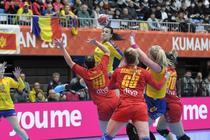 Cristina Neagu, in meciul cu Muntenegru