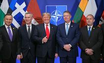 Klaus Iohannis si Donald Trump