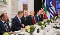 Klaus Iohannis si Donald Trump, la dineu