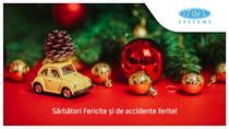 Sărbători Fericite și de accidente ferite!