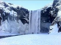 Cascada glaciara