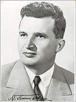 Ceausescu, superb barbat