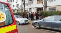 bloc evacuat Galati