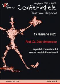 Prof. Dr. Dinu Antonescu la Conferintele TNB