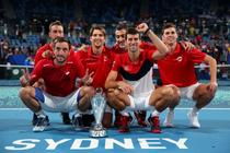 Serbia a castigat editia inaugurala a ATP Cup