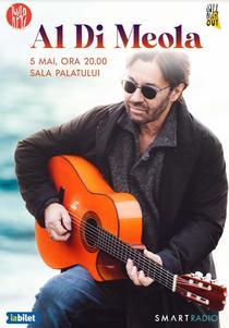 Al Di Meola in concert la Bucuresti